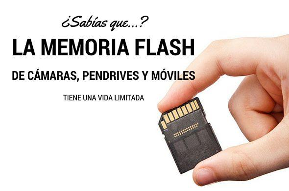 Memorias flash: Conoce los síntomas de avería y no pierdas tus archivos